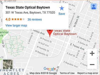 tso baytown tx map